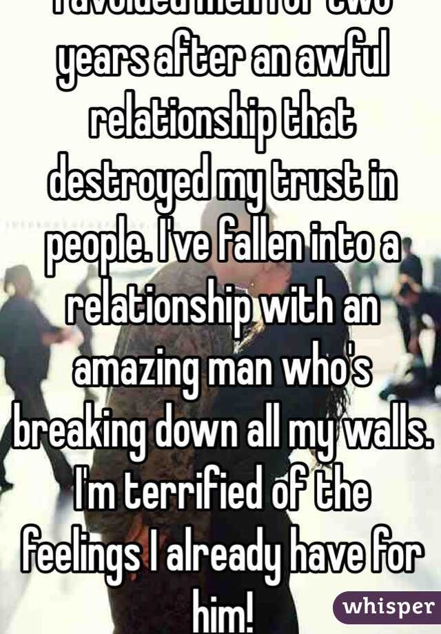 Two years into relationship