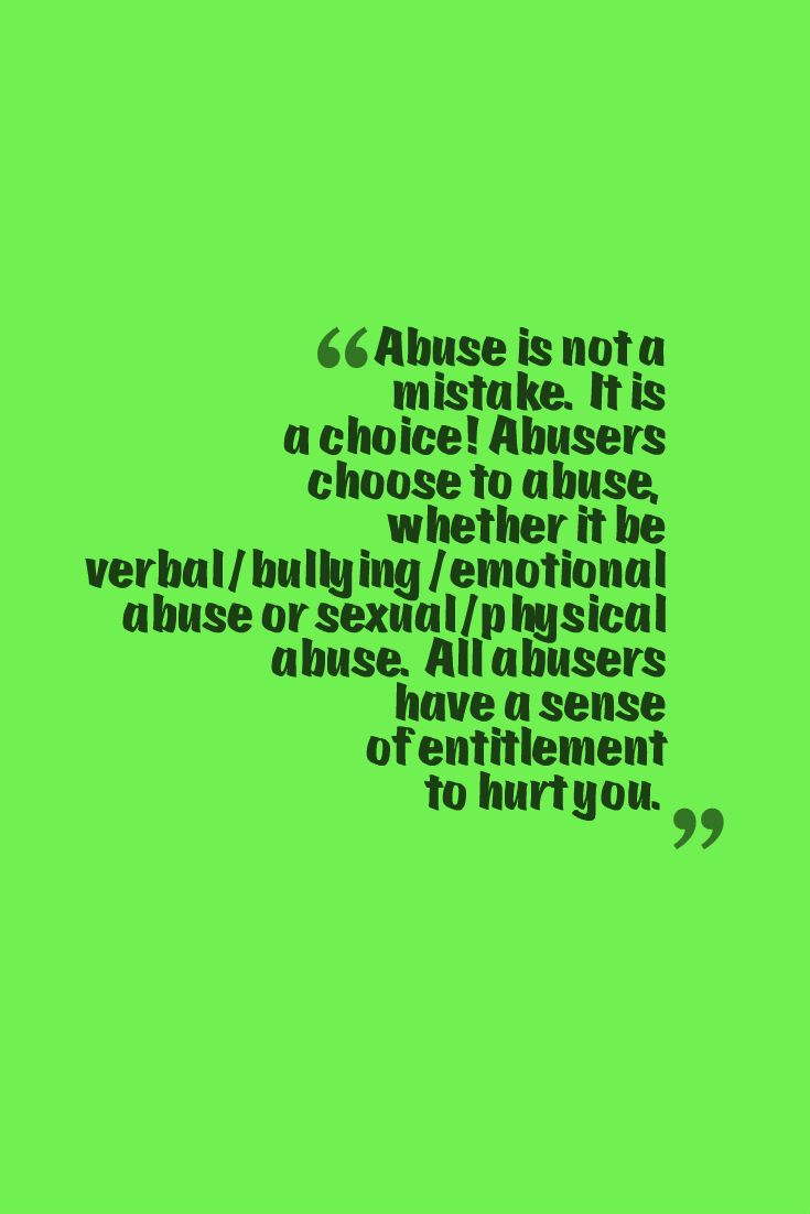 Victims of emotional abuse characteristics
