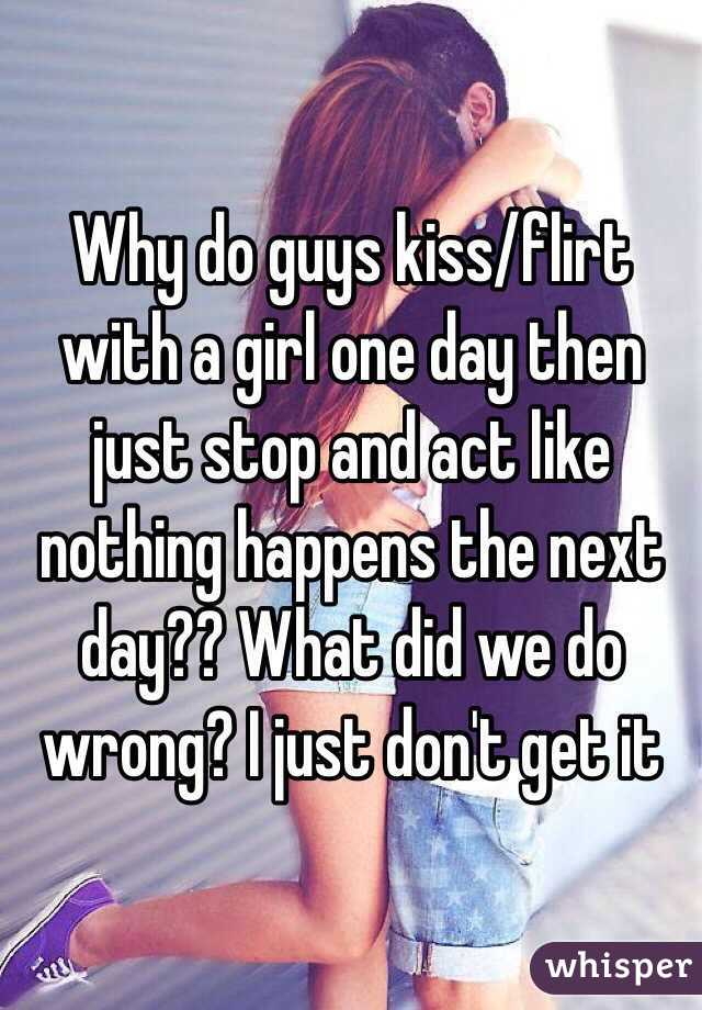 What do guys like in a kiss