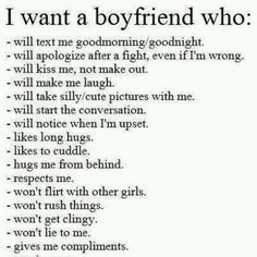 What guys need in a relationship