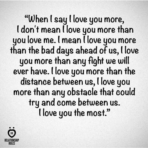 What does much love mean in a text