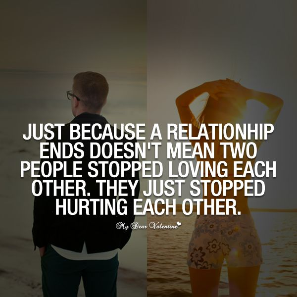 What ends a relationship