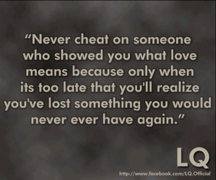What is cheating in a relationship