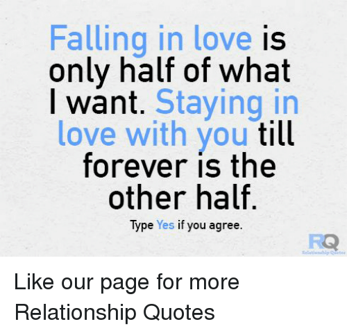 What is falling in love