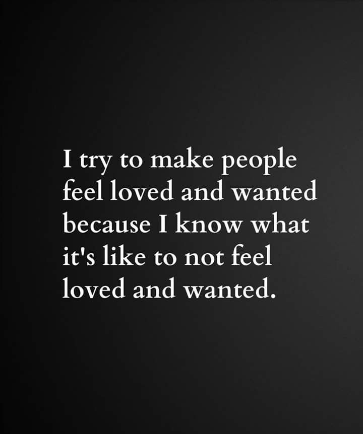 What makes people feel loved