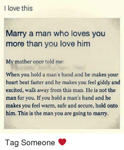 What to expect from a man who loves you