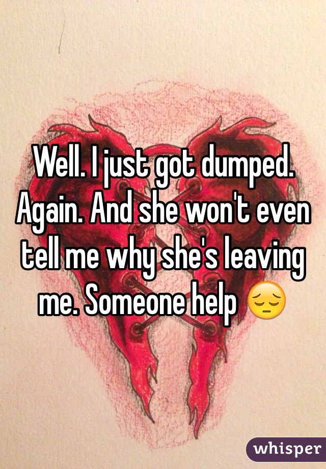 What to say to someone who got dumped