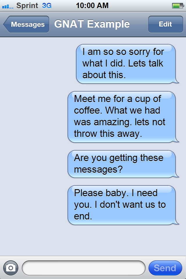 What to text your ex after no contact