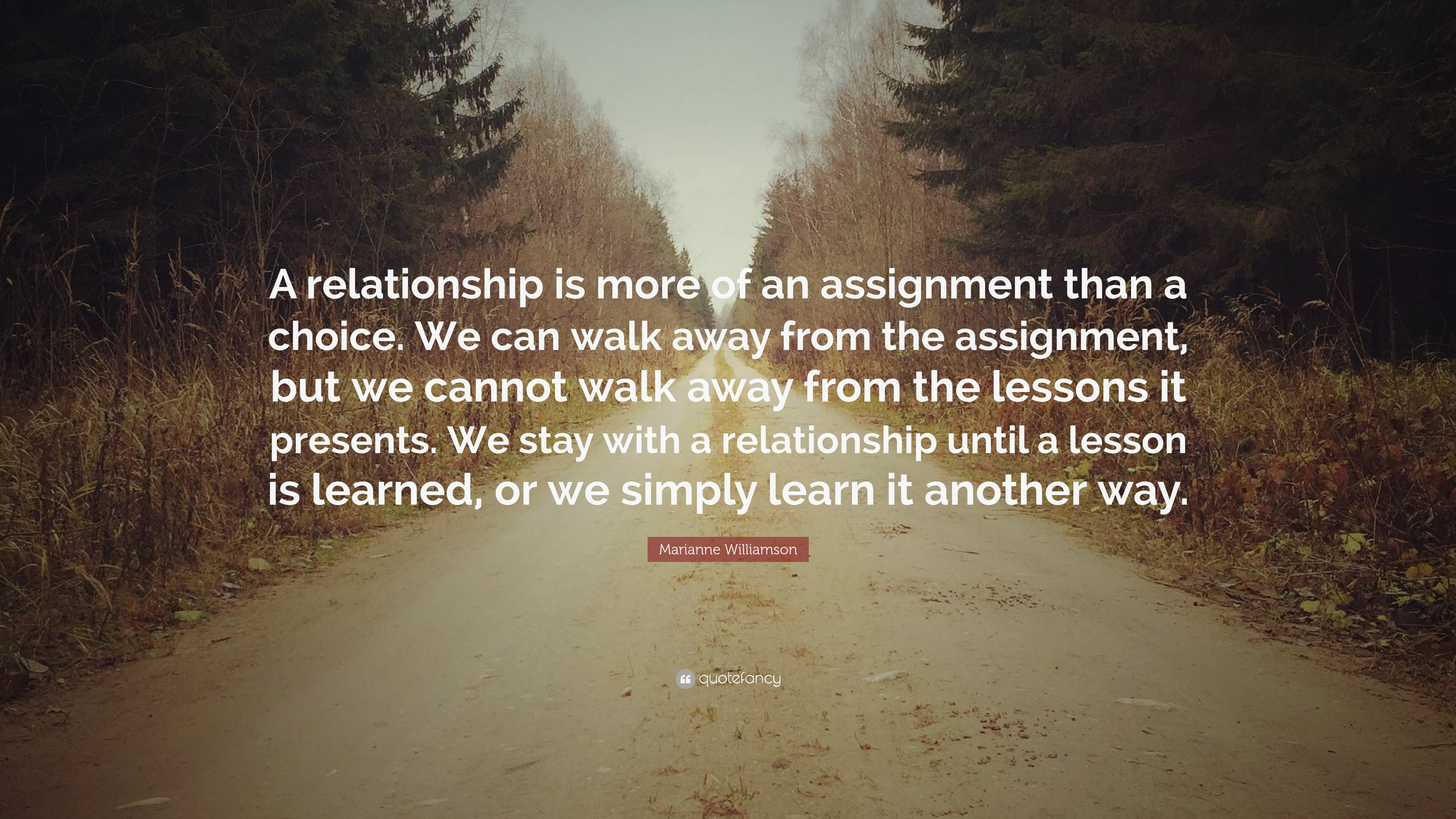 When do you walk away from a relationship.