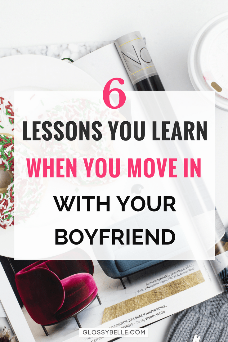 When to move in with boyfriend