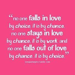 Why do we fall out of love