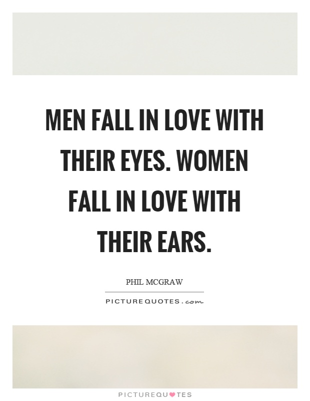 Why men fall inlove