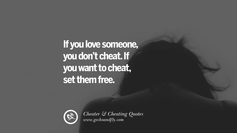 Wife loves to cheat