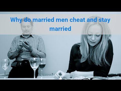 Woman stays with cheating husband
